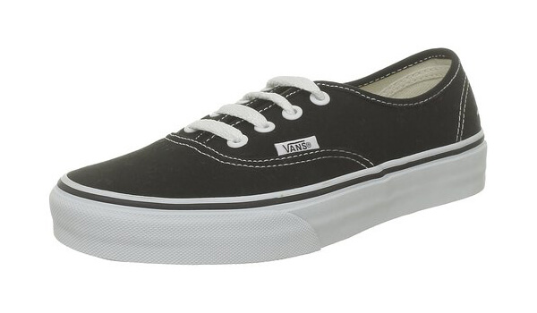 Authentic Solid Skateboard Sneakers