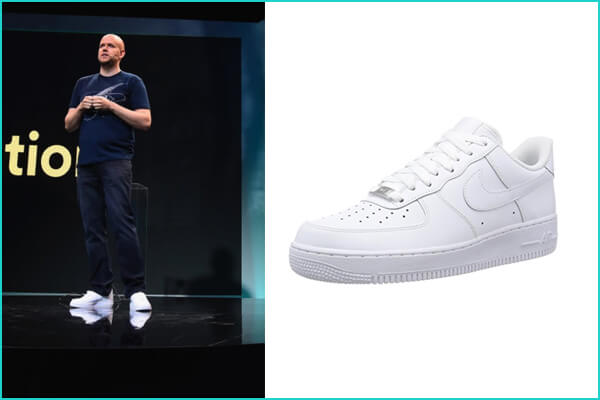 Daniel Ek: Nike Air Force 1 '07