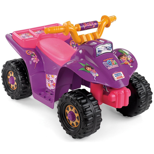 Fisher-Price Power Wheels Dora Lil Quad