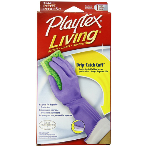 Playtex Living Gloves Size Small