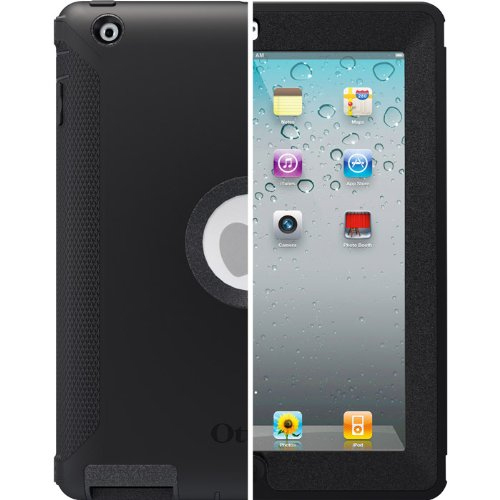 OtterBox Defender Series Case with Screen Protector and Stand for the New iPad (4th Generation), iPad 2 and 3