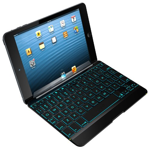 ZAGG Cover Case with Backlit Bluetooth Keyboard