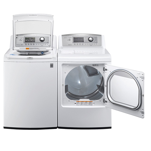LG H/E Ultra Large Capacity Laundry Pair