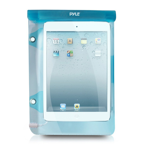 Pyle Waterproof Pouch For iPad Tablet Wallet Money, Dry Bag