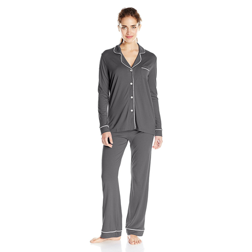 Cosabella Women's Bella Long-Sleeve Top and Pant Pajama Set