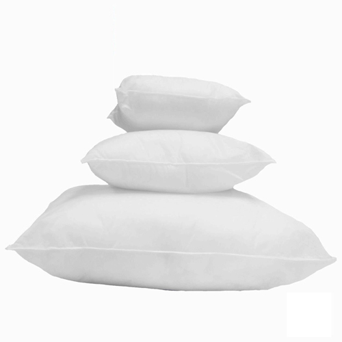 """Mybecca 18"""" X 18"""" Sham Stuffer Square Pillow Form Insert Polyester, Standard / White (Made in the USA)"""