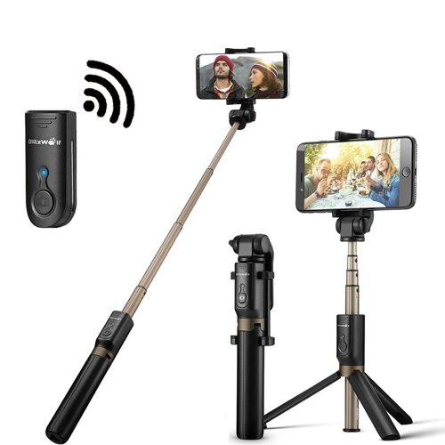Bluetooth Selfie Stick Tripod with Remote for iphone 6 6s 7 plus 8 Android Samsung Note 8 Galaxy S7 S8 Plus Edge ANKEE 2 in 1 Pocket Monopod Bluetooth 3.0 Aluminum 360° Rotation Phone Holder