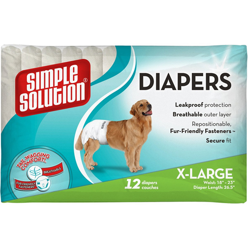 Simple Solution Disposable Dog Diaper