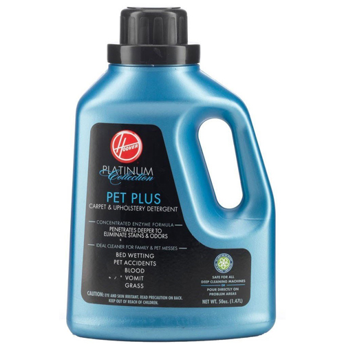 Hoover Platinum Collection Pet Plus Carpet and Upholstery Detergent 50 oz