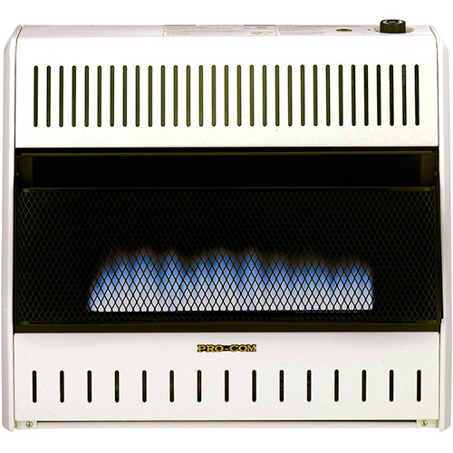 ProCom Blue Flame Vent-Free Wall Heater 49195