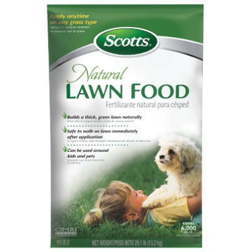 Scotts Natural Lawn Food - 4,000-sq ft (Natural Lawn Fertilizer)
