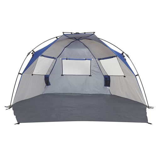 Lightspeed Outdoors Quick Cabana Beach Tent Sun Shelter In Blue