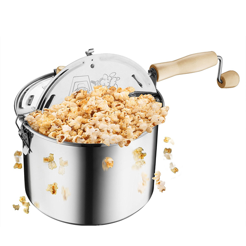 Great Northern Popcorn Original Stainless Steel Stove Top