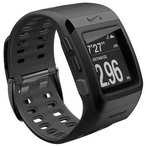 The Nike+ Sport Watch GPS Powered by TomTom (Black)