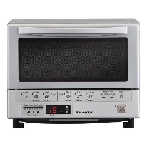 Panasonic NB-110P Flash Express Toaster Oven, Silver