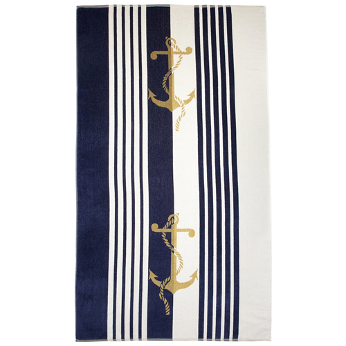 Northpoint Newport Velour Beach Towel