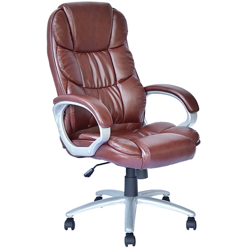 top 10 best brown leather office chairs in 2018 reviews our great