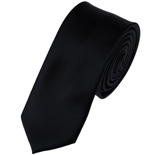 Mens Solid Color 2'' Skinny Tie