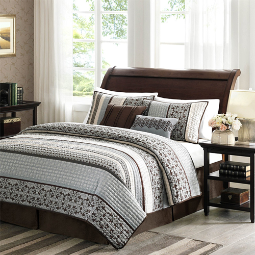 Madison Park Princeton 5 Piece Quilted Coverlet Set