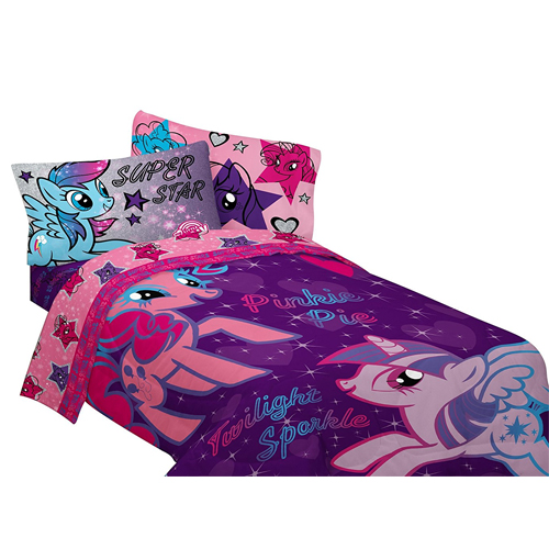 Hasbro My Little Pony The Stars Are Out Sheet Set, Twin