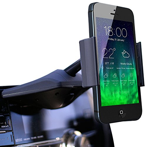Koomus CD Slot smartphone car mount