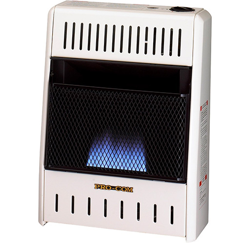 ProCom ML060HBA Liquid Propane Flame Space Heater Wall