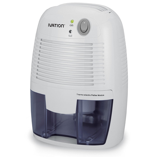Ivation GDM20 Thermo-Electric Dehumidifier, 1100 Cubic Feet