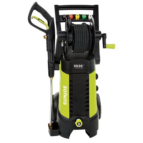 Electric Pressure Washer w/ Hose Reel