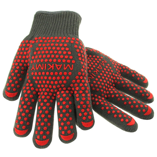 Barbecue-Grill-Oven Cooking Gloves