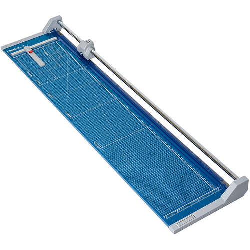 """Dahle 558 Professional Rolling Trimmer, Up to 12 Sheet Capacity, 51 1/8"""" Cut Length"""