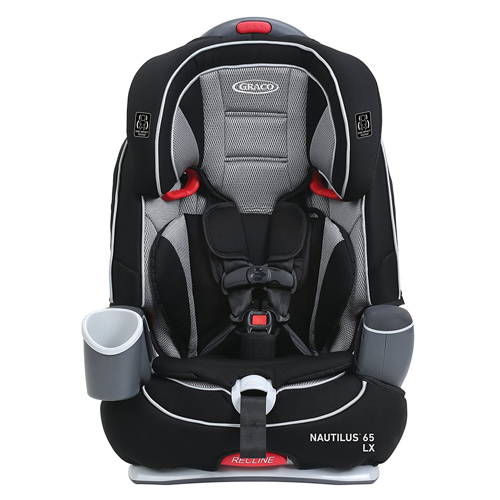 Graco Nautilus LX 3-in-1 Harness Booster, Matrix