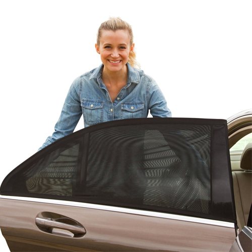 ShadeSox Universal Fit Car Side Window Baby Sun Shade