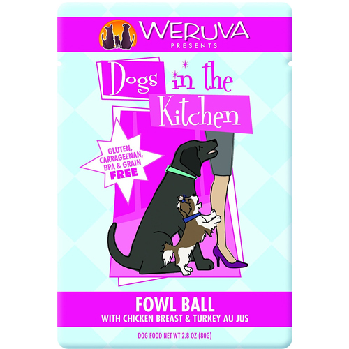 Weruva Dogs in the Kitchen, Love Me Tender with Chicken Breast Au Jus Dog Food