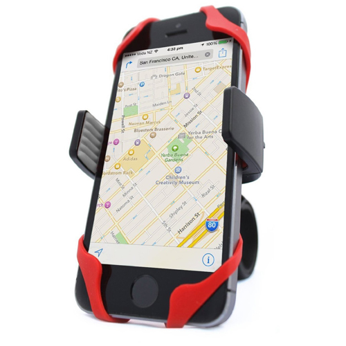 Vibreli universal bike phone mount