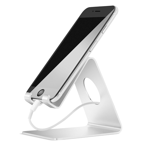 The iPhone Stand,Lamicall® S1 Aluminum Universal Cell Phone Stand Desk Desktop Holder