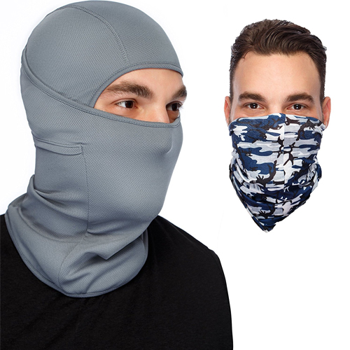 Multipurpose Premium Balaclava Ski Mask + Versatile Sports/Casual Headband