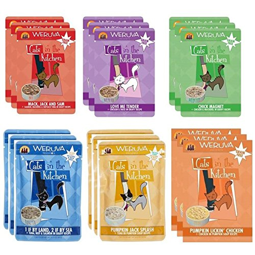 Weruva Cats In The Kitchen Variety Pack Pouches