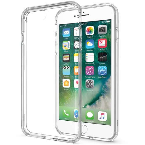 Innovative Dotted Transparent Dual Layer Case