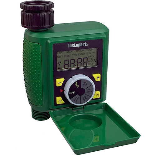 Instapark PWT-07 Outdoor Waterproof On-Off Water Faucet Hose Timer