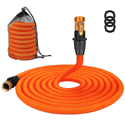Track life 50ft Garden Hose Connector Lightweight Expandable Water Hose
