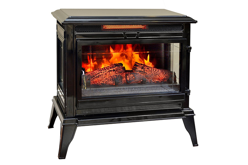 Comfort Smart Jackson Infrared Electric Fireplace Stove Heater
