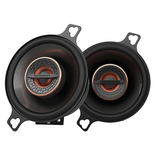 "Infinity REF3022CFX 3.5"" 75W Reference Series Coaxial Car Speakers Textile Tweeter"