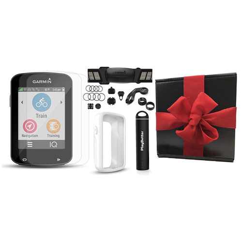Garmin Edge 820 Gift Box Bundle with PlayBetter Silicone Protective Case