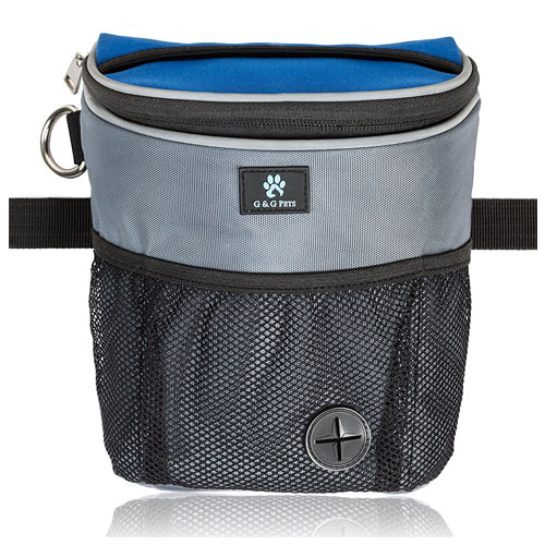 G&G Pets - Large Dog Treat Pouch for Dog Training and Agility
