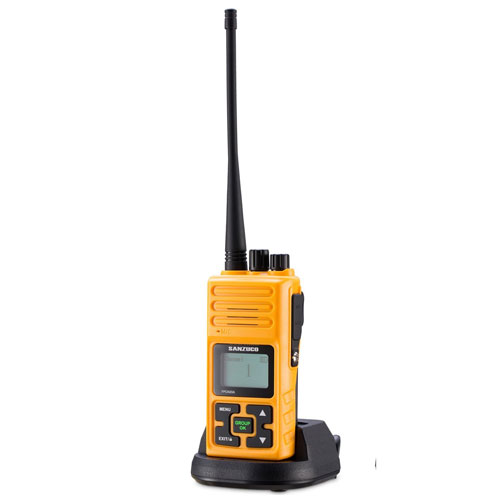 Walkie Talkie, Sanzuco 20 Channel Hands-Free 2 Way Radios up to2.5 Miles Long Range