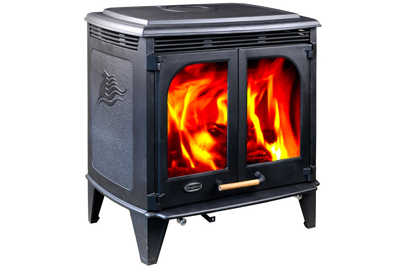 Hiflame 85,000BTU/h Extra Large Wood Burning Stove HF577DU