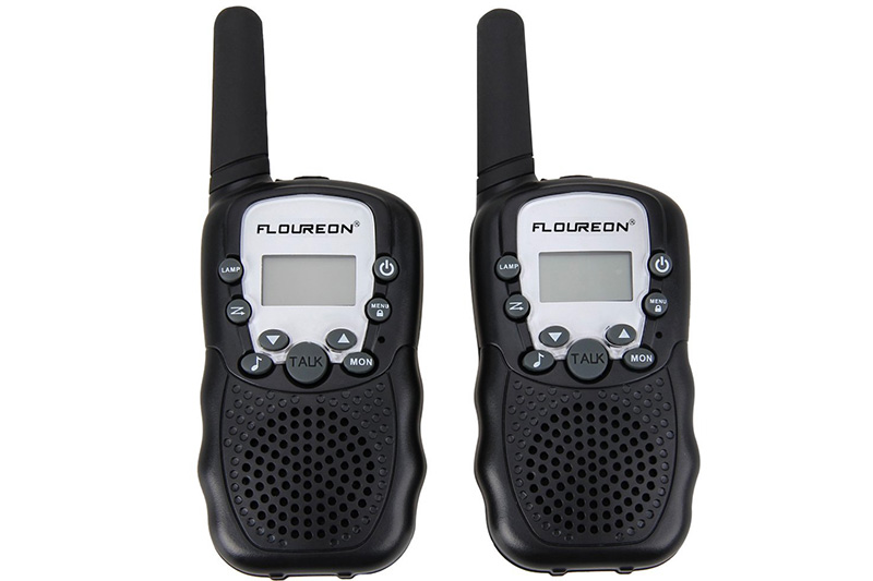Floureon UHF462-467MHz 22 Channel FRS/GMRS 2-Way Walkie Talkies (2-Pack)