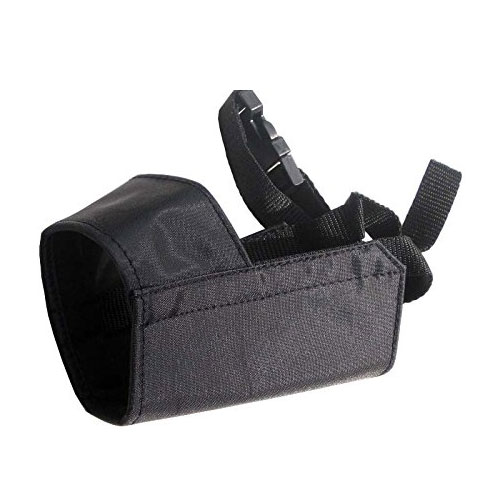 Quick Fit Dog Muzzle with Adjustable Straps, black nylon, Size 3, Size 4, Size 5, Size 3 XL, Size 4 XL, or Size 5 XL