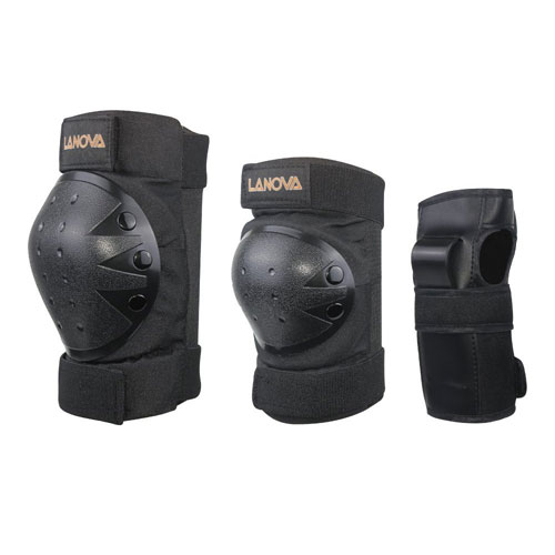 Lanova Child/Youth/Adult Protective Gear Set for Multi Sports Safety Protection Scooter Skateboard Kneepads