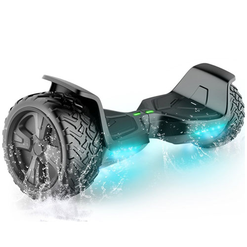 "TOMOLOO Self-Balancing Scooter UL2272 Certified 6.5"" Wheel Hoverboard with RGB Lights"